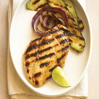 Lime and Pepper Grilled Chicken Breasts
