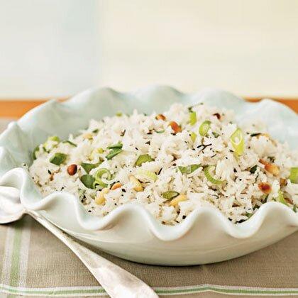 Herbed Basmati Rice Recipe | MyRecipes