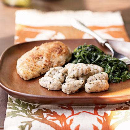 Hazelnut Gnocchi with Sage Glaze