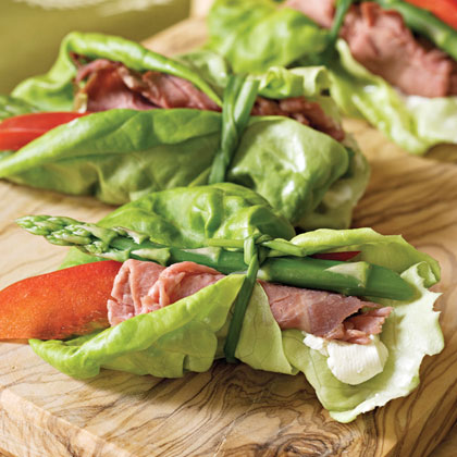 Beef-and-Asparagus Bundles