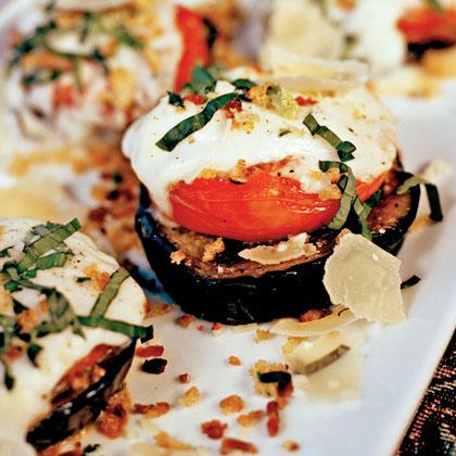 Luca's Eggplant Parmesan