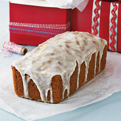 Lemon Verbena-Walnut Loaf Cake