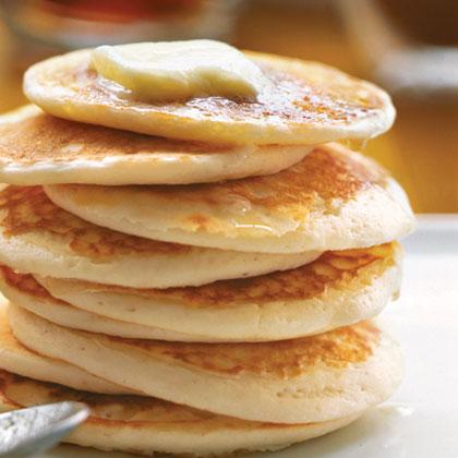 Buttermilk-Pear Pancakes