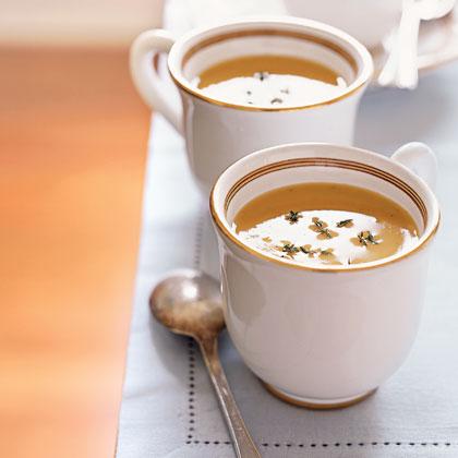 Velvety Squash Soup