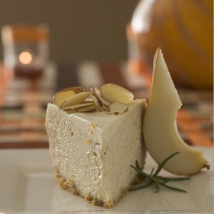 New York-Style Sour Cream-Topped Cheesecake