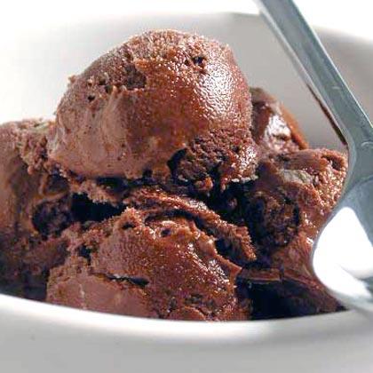 Malted Chocolate Ice Cream