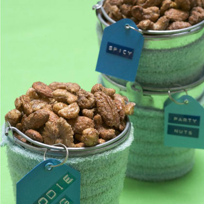 Sweet-and-Spicy Nuts