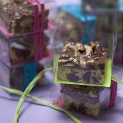 Chocolate Chip-Pecan Squares