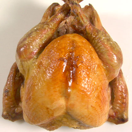 Deconstructing a Turkey Carving