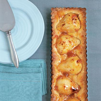 Pressed-Crust Pear Tart
