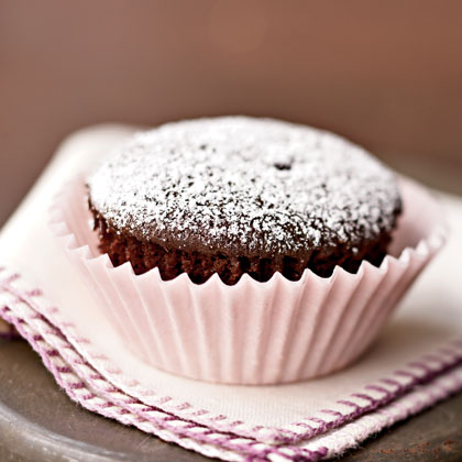 Double-Chocolate Cupcakes