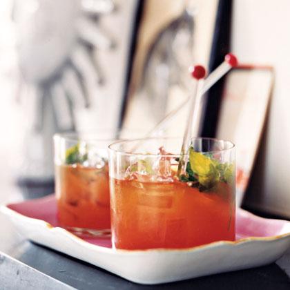 Bourbon and Blood Orange Blast