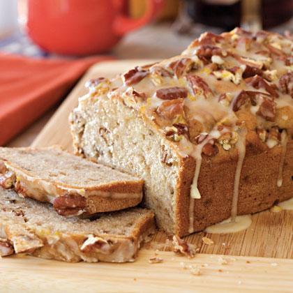 Cream Cheese-Banana-Nut Bread