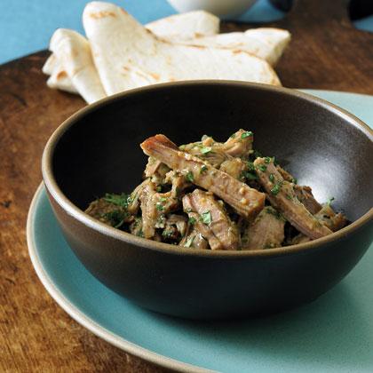 Salsa Verde Braised Pork