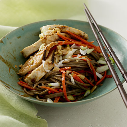 Hoisin Chicken With Soba Noodles