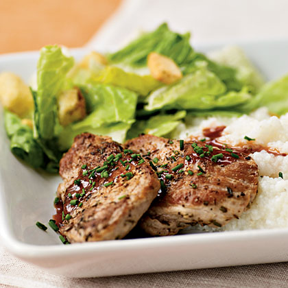 Pork Medallions with Red Currant Sauce