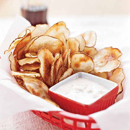 Bake your own snack chips.