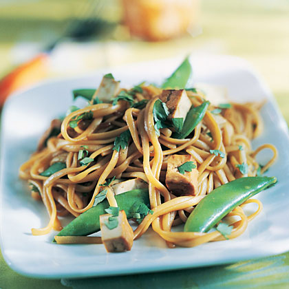 Thai Tofu and Spicy Asian Noodles