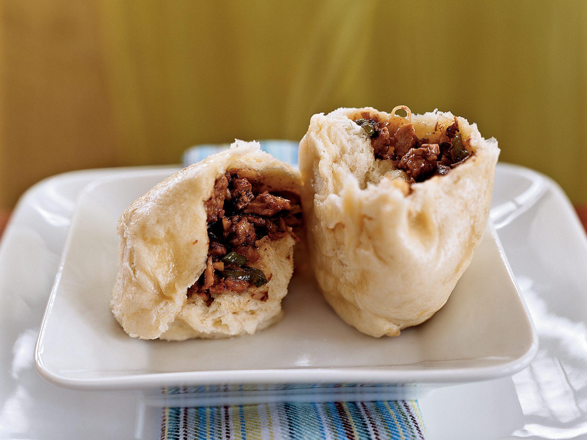 Steamed Pork Buns (Char Siu Bao)
