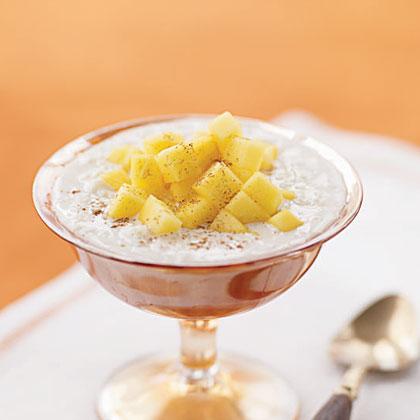 Reduced Milk with Cardamom and Mango (Maangai Pal Paysam)