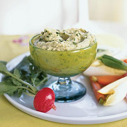 Garlicky Lima Bean Spread