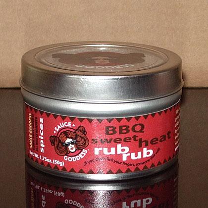 Sauce Goddess: BBQ Sweet Heat Rub