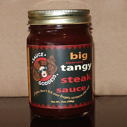 Sauce Goddess: Big Tangy Steak Sauce