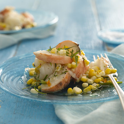 Lobster and Corn Salad With Tarragon Vinaigrette