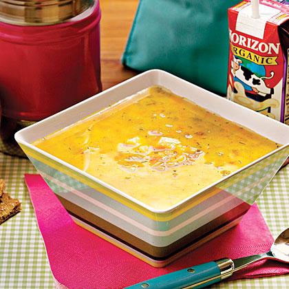 Potato, Bean, and Yogurt Soup