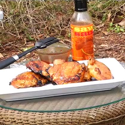 How to Baste Chicken on the Grill