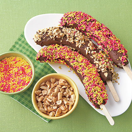 Chocolate-Covered Bananas