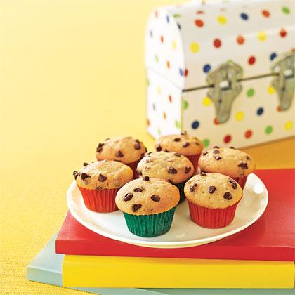 Mini Chocolate- Chip Cupcakes