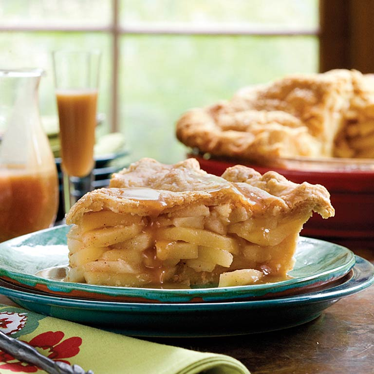 Double Apple Pie With Cornmeal Crust