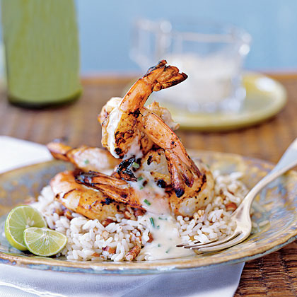 Key Lime Grilled Shrimp
