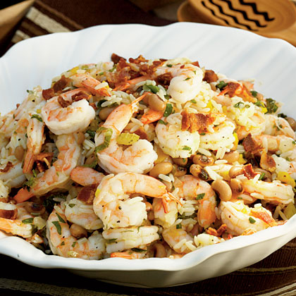 Shrimp and Hoppin' John Salad