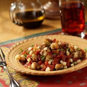 Bacon, Basil and Tomato Salad