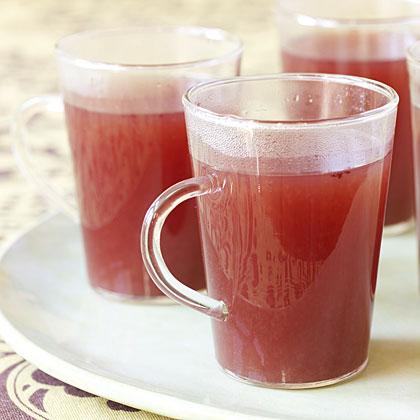 Hot Cranberry Cocktail
