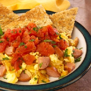 Heart Healthy Breakfast Scramble