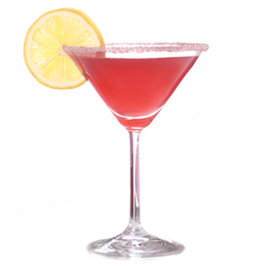 Favorite Things (Pomegranate) Martini