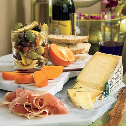 Instant Italian Cheese Tray