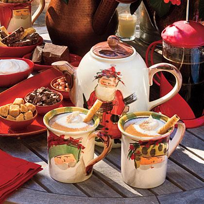 Hot Chocolate With Hazelnut Liqueur