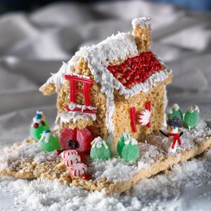 Kellogg's® Rice Krispies Treats® Holiday House