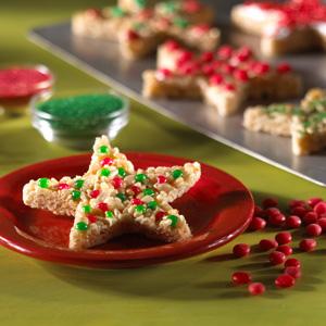 Kellogg's® Rice Krispies Treats® Christmas Stars
