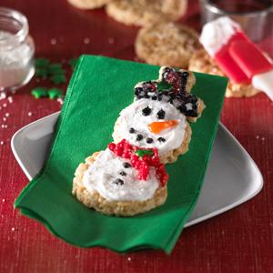 Kellogg's® Rice Krispies Treats® Snowman Snacks