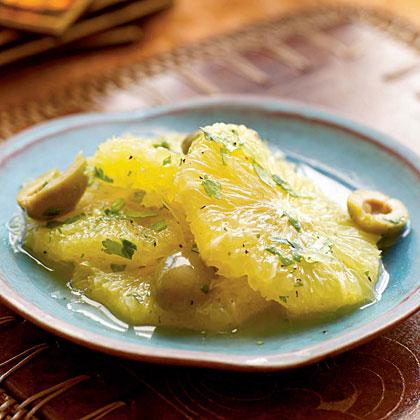 Orange and Olive Salad (S'lata Botukan wa Zaytoon)