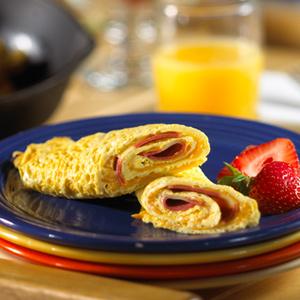 Guiltless Bacon Omelet