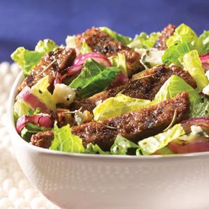 Summer Blue Burger Salad