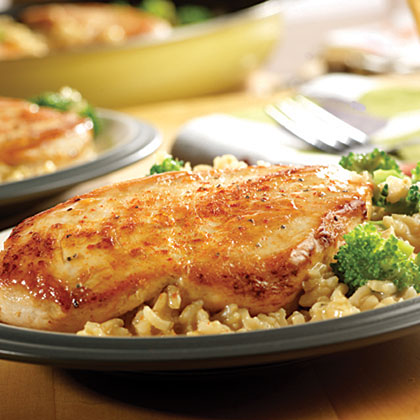 Campbell's Quick & Easy Chicken, Broccoli & Brown Rice Dinner