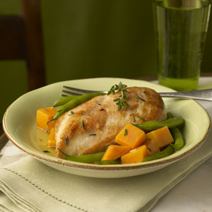 Golden Chicken & Autumn Vegetables