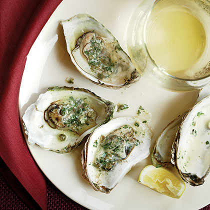 Barbecued Oysters 3 Ways